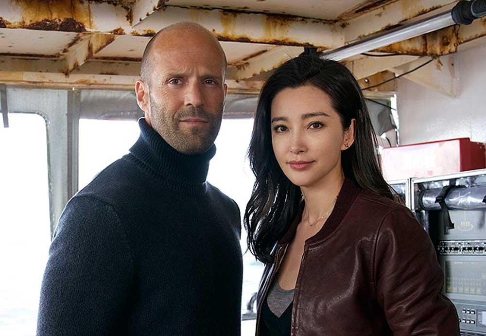 Jason Statham en Meg Espías Marvel