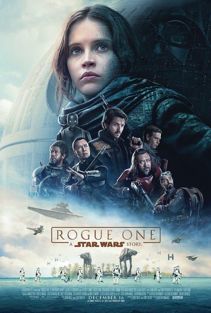 Póster final de Rogue One: Una historia de Star Wars