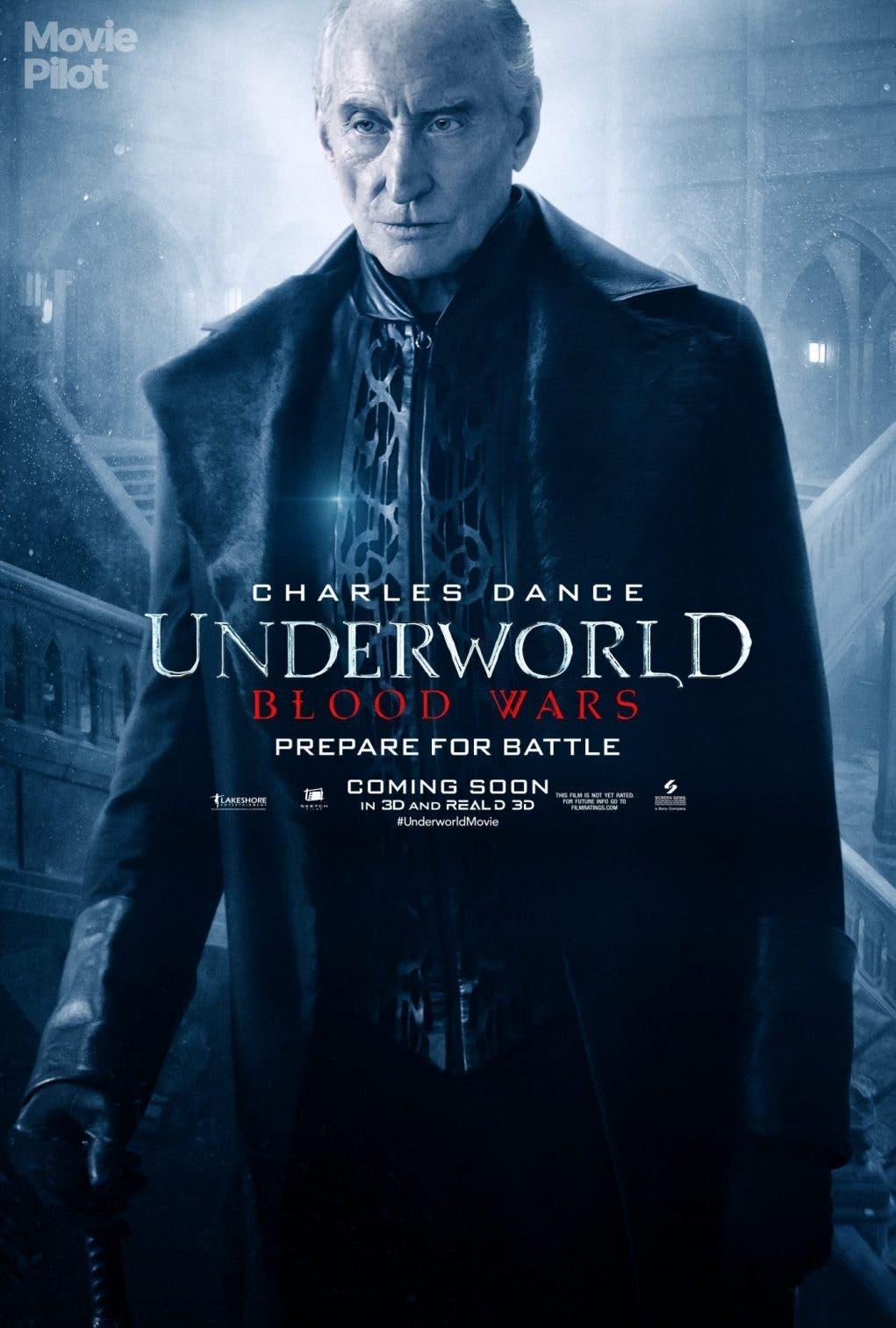 Underworld Guerras de Sangre Charles Dance