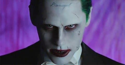 Jared Leto como el Joker en Suicide Squad