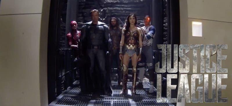 Wonder Woman en La Liga de la Justicia