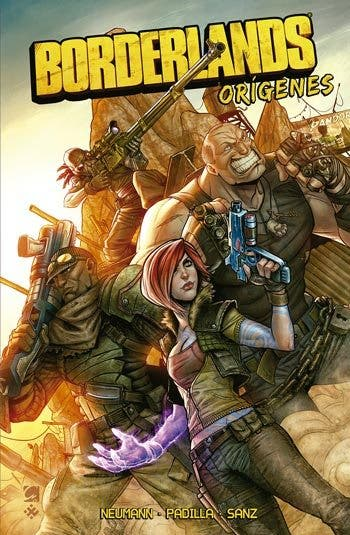 portada BORDERLANDS ORIGÍNES