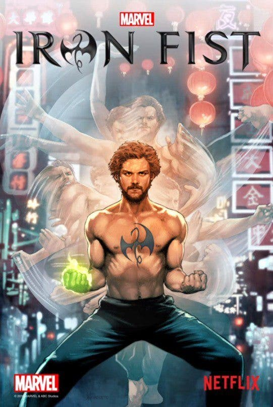 portada comic iron fist marvel netflix