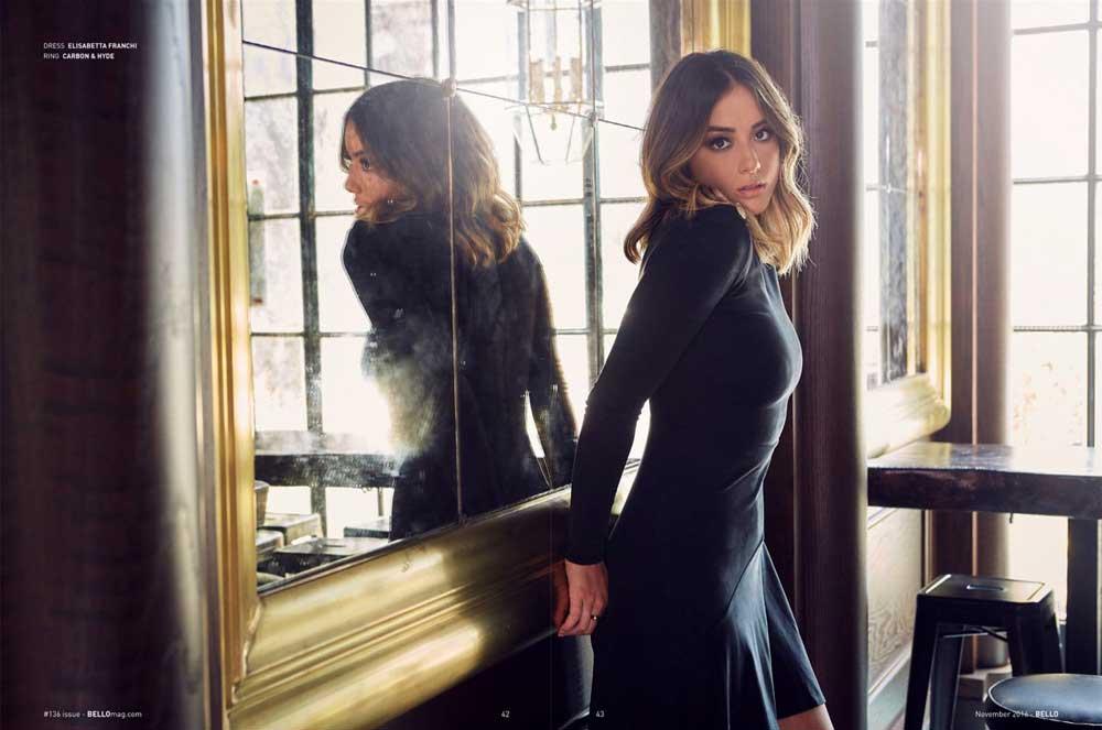 Chloe Bennet de Marvel