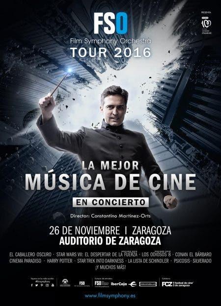Póster Film Symphony Orchestra Zaragoza