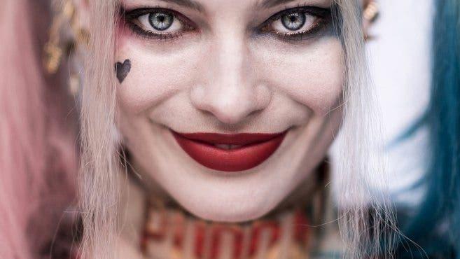 imagen de Margot Robbie como Harley Quinn