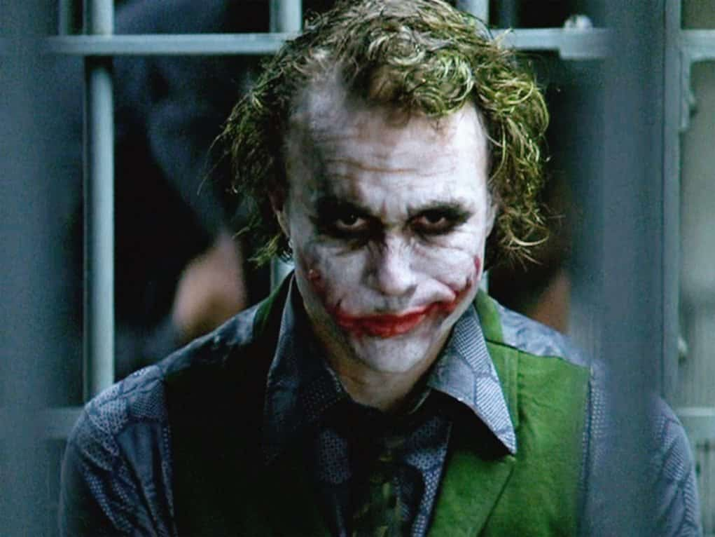 Joker (Heath Ledger) en 'El Caballero Oscuro'