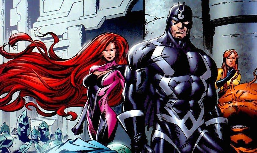 Primer póster oficial de la serie de 'Inhumanos' y fecha de estreno