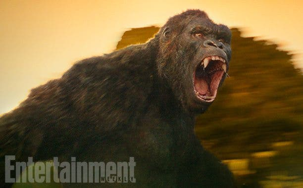 imagen de King Kong en 'Kong: La Isla Calavera'