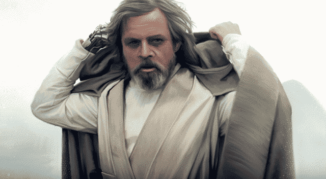 Luke Skywalker (Mark Hamill) en 'Star Wars: Los Últimos Jedi'