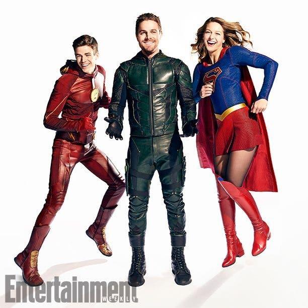 Flash, Arrow y Supergirl (DC Comics)