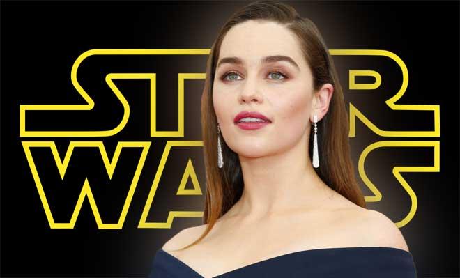 Emilia Clarke en la película de 'Han Solo'