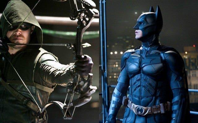 Batman Begins Arrow conexion