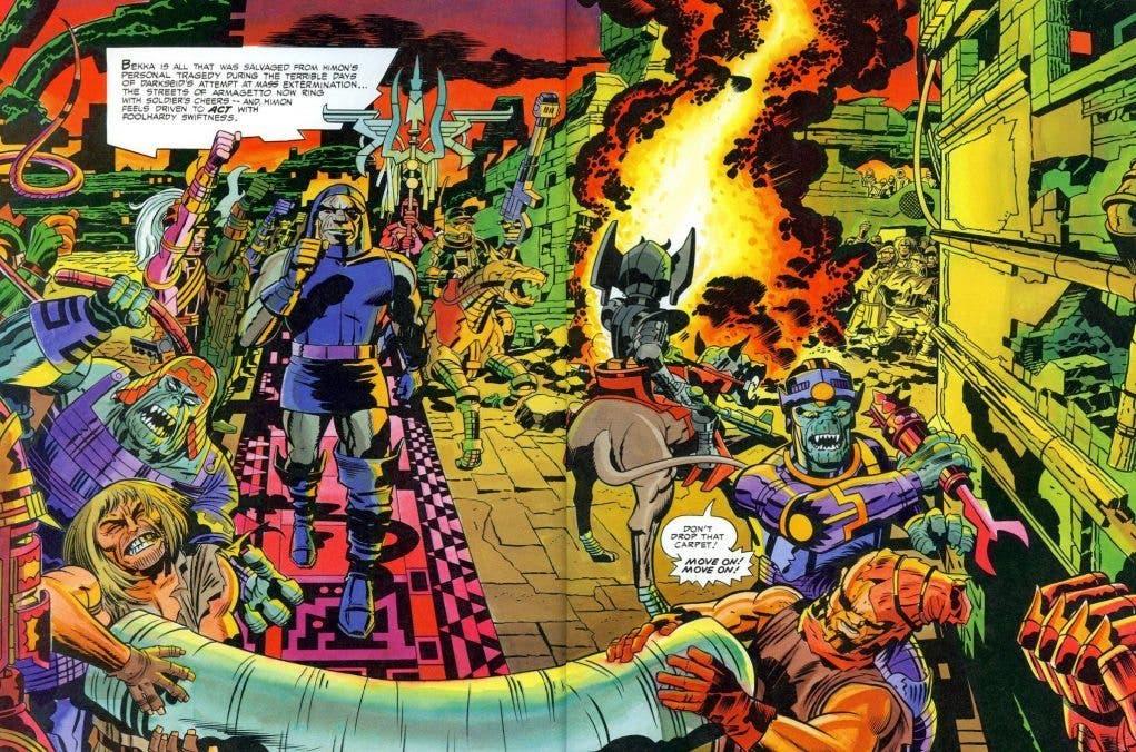 Cuarto Mundo Jack Kirby (ECC Ediciones)
