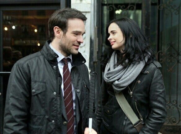Dareredevil y Jessica Jones en The Defenders (1)