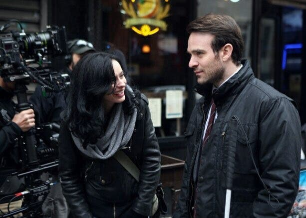 Dareredevil y Jessica Jones en The Defenders (2)