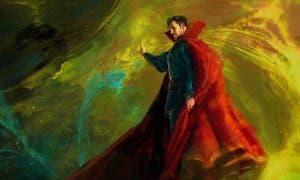 Doctor Strange traje de Benedict Cumberbatch