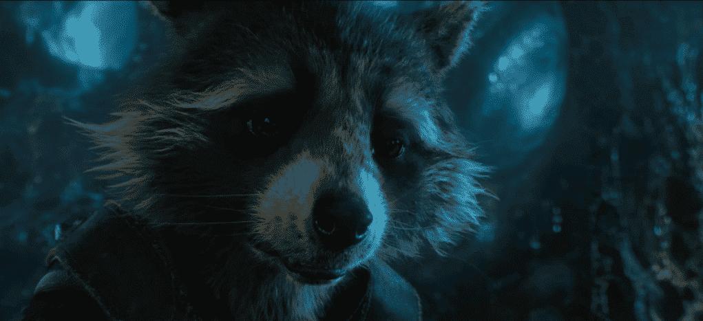 Rocket Raccoon en Guardianes de la Galaxia Vol. 2