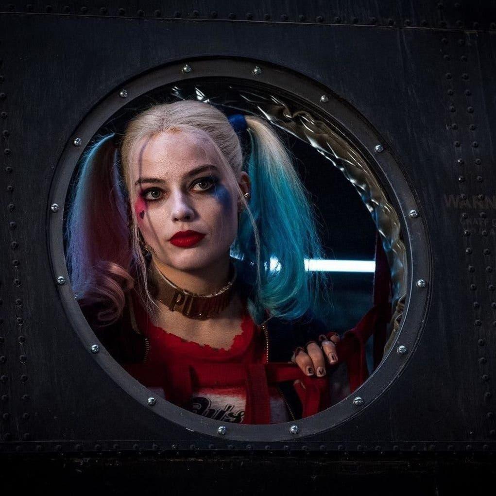 Harley Quinn nueva imagen Margot Robbie avion