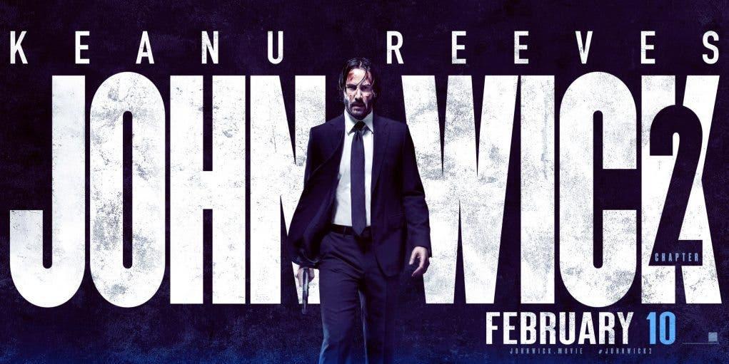 Keanu Reeves trailer John Wick 3