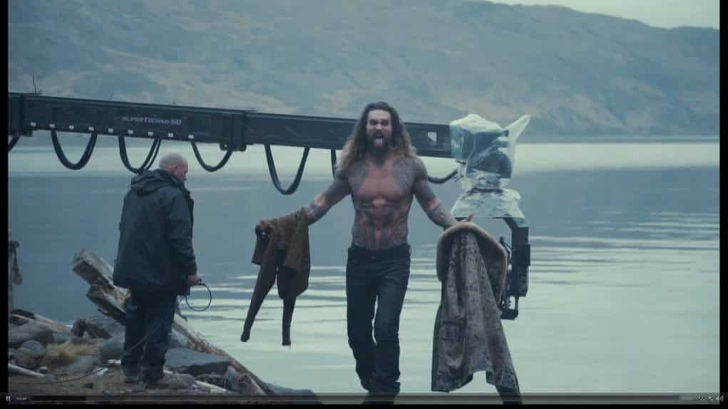 Liga de la Justicia Zack Snyder (Aquaman Jason Momoa) 2