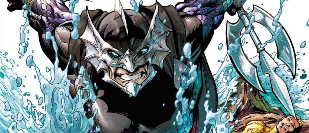 Ocean Master villano Aquaman (2018)
