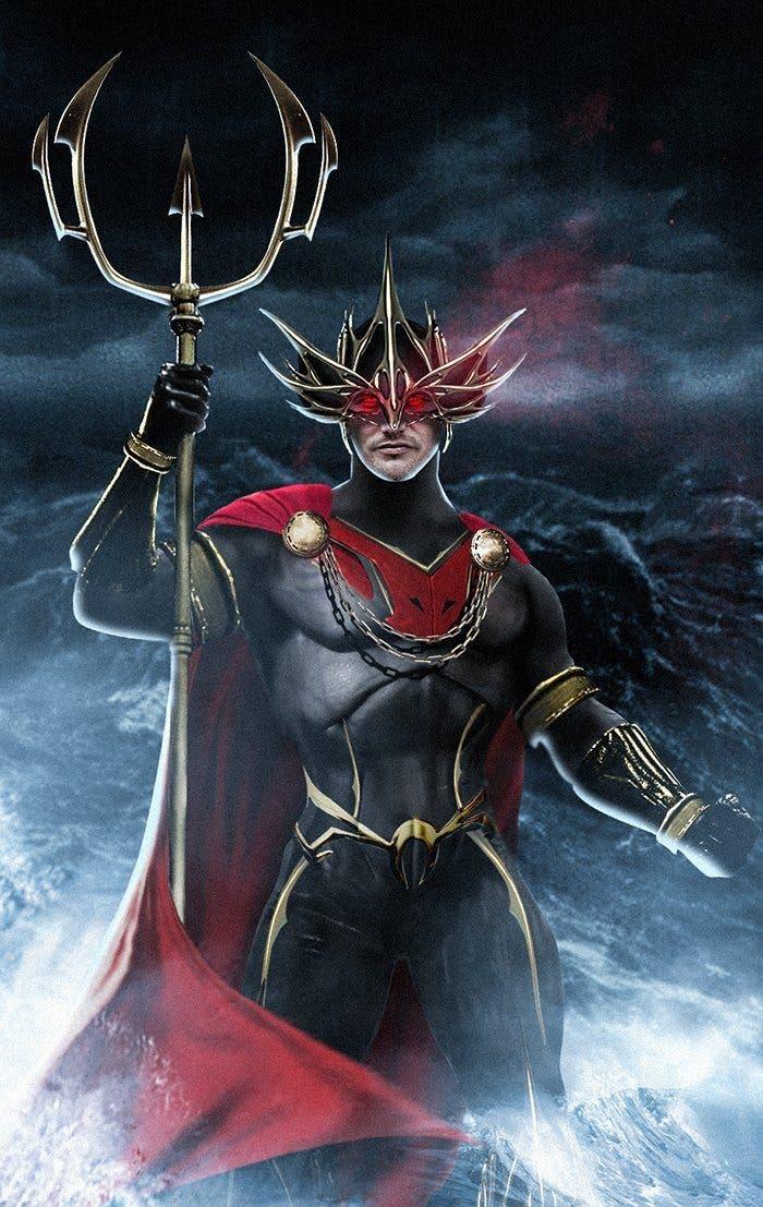Patrick Wilson Ocean Master look (Aquaman) 1