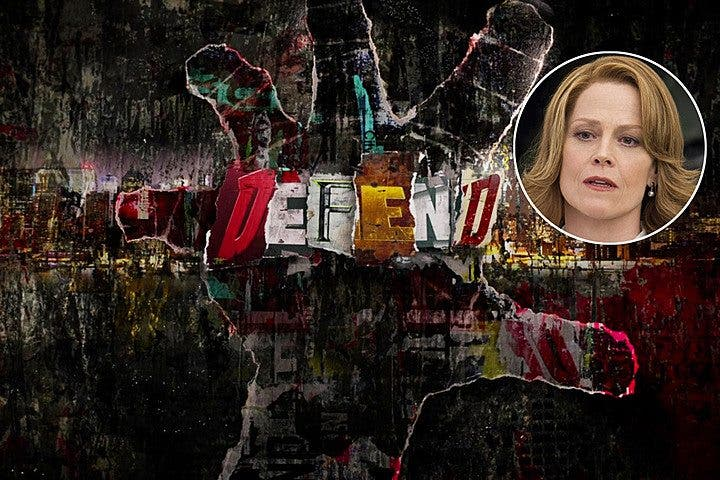 Sigourney Weaver villana The Defenders (netflix marvel)