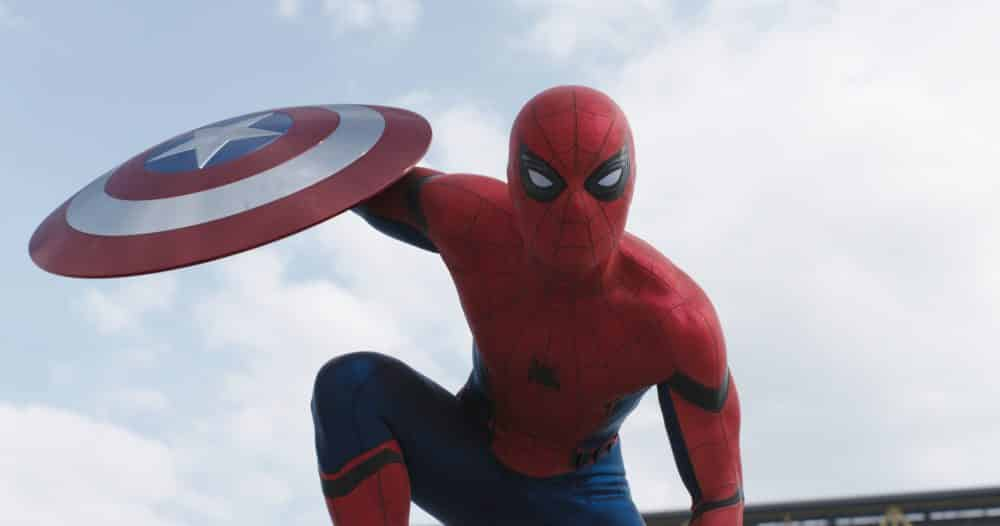 El traje de Spider-Man (Tom Holland) en Capitán América: Civil War (2016)