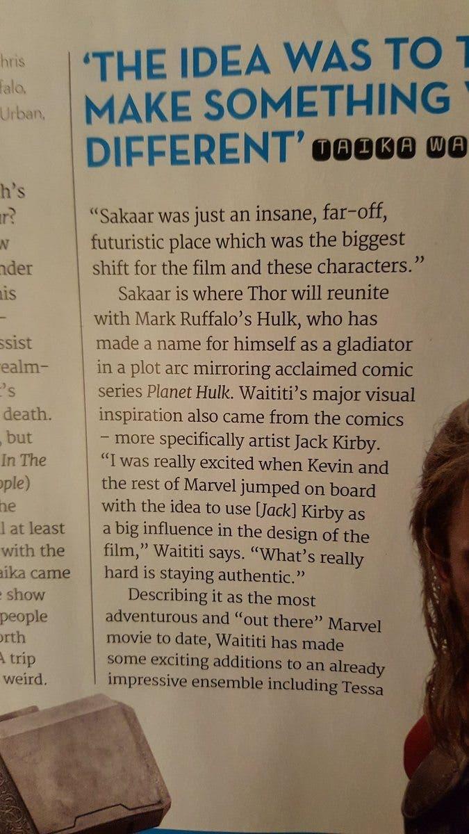 Thor Ragnarok - Hulk Sakaar