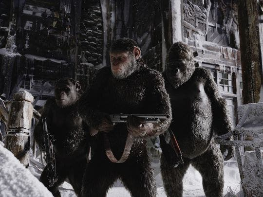 War for the planet of the apes (2) imagen