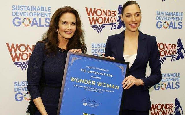Wonder Woman naciones unidas