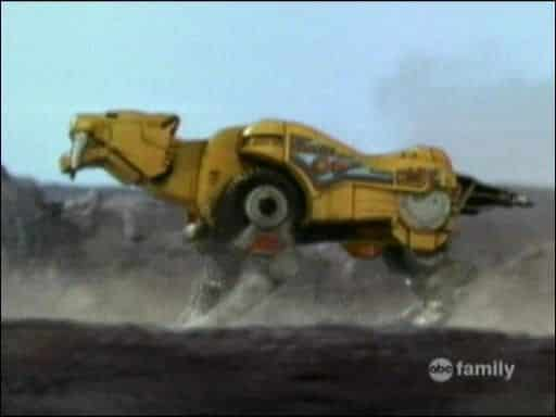 Yellow Ranger's Sabre Toothed Tiger Dinozord (Power Rangers)