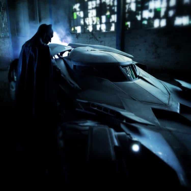 Zack Snyder foto Caballero Oscuro en Batman v Superman