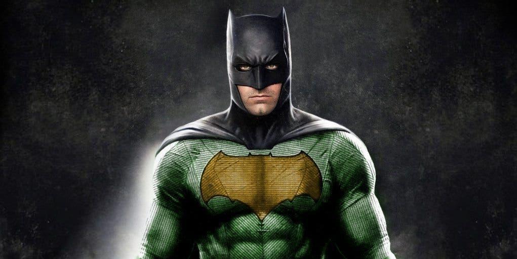 batman nuevo traje Liga de la Justicia