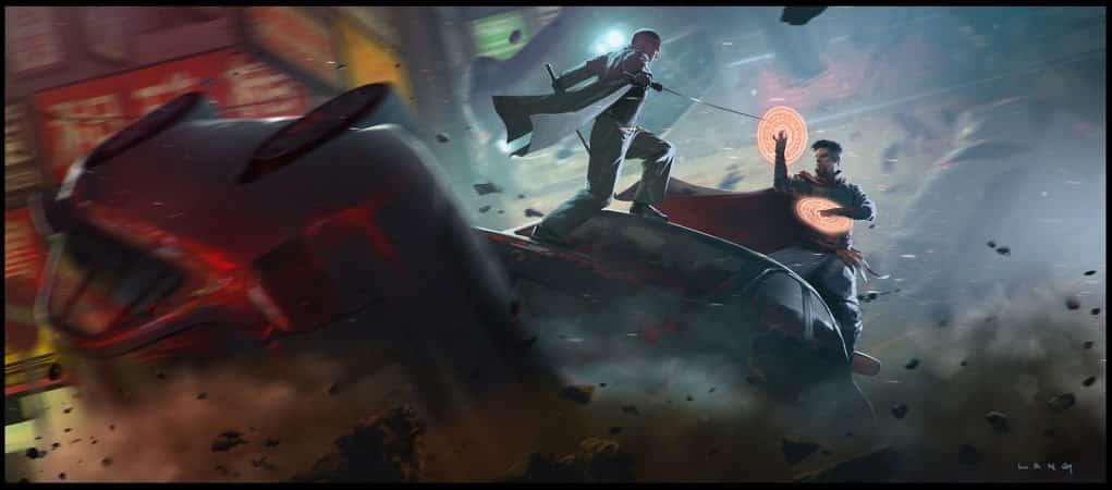 Concept art de Doctor Strange