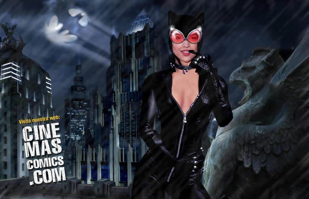 fan art Eiza Gonzalez Catwoman Gotham City Sirens