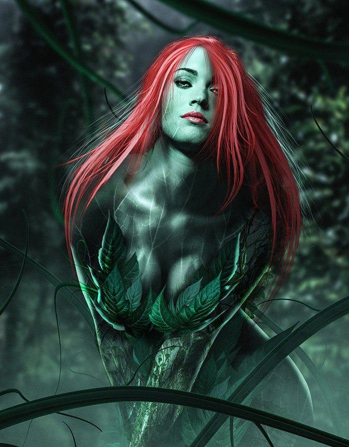 fan art Megan Fox Hiedra Venenosa Gotham City Sirens