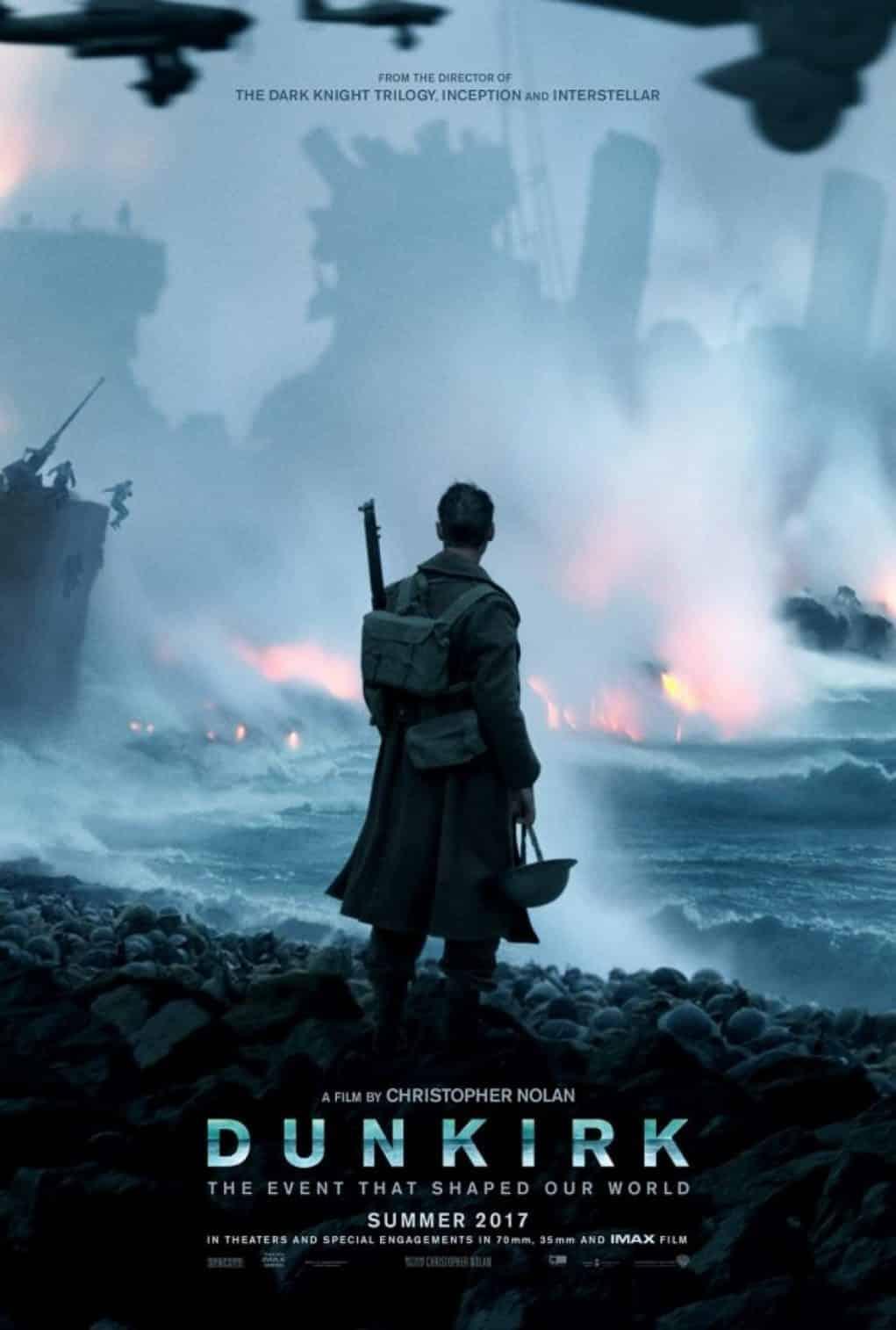 Christopher Nolan avisa: Dunkirk' no es una película de guerra | Estrenos