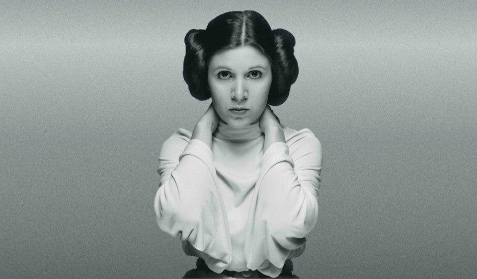 princesa Leia en Star Wars 8 (Carrie Fisher muerte)