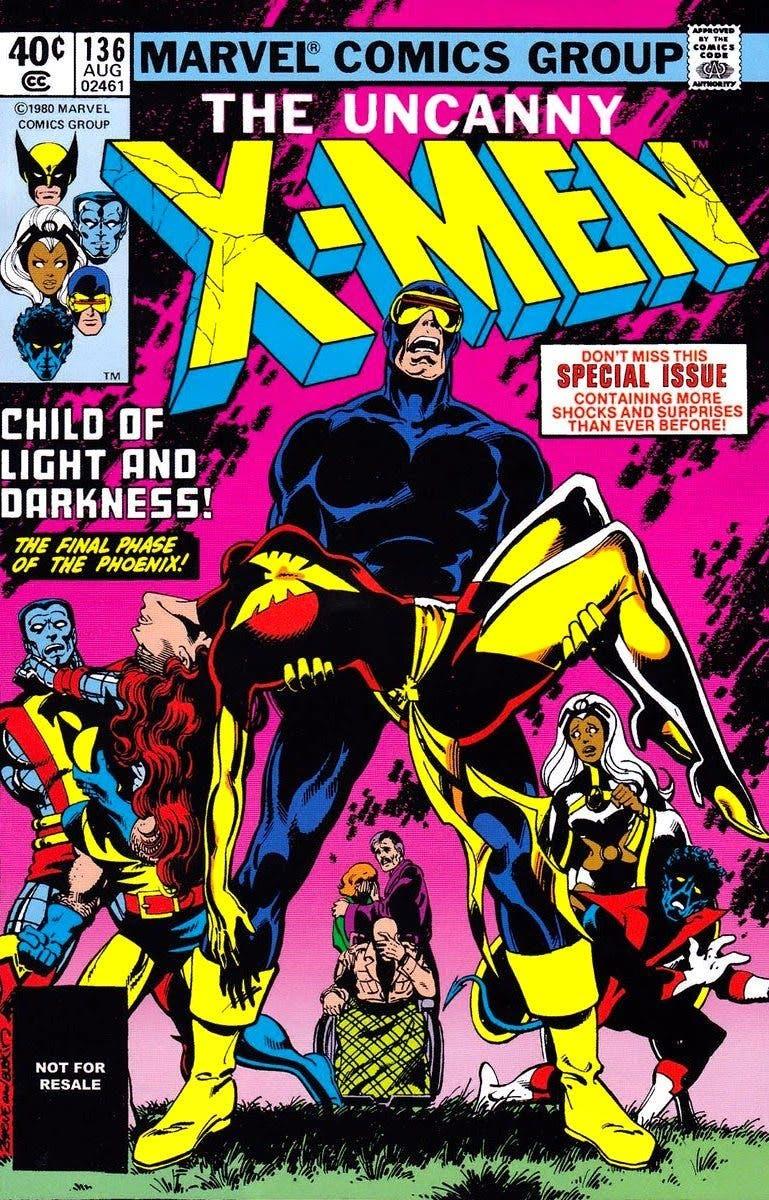 Saga Fenix Oscura X-men