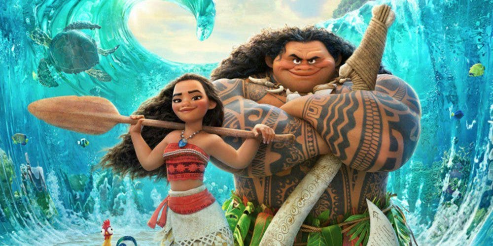 Vaiana (Moana) Disney animation