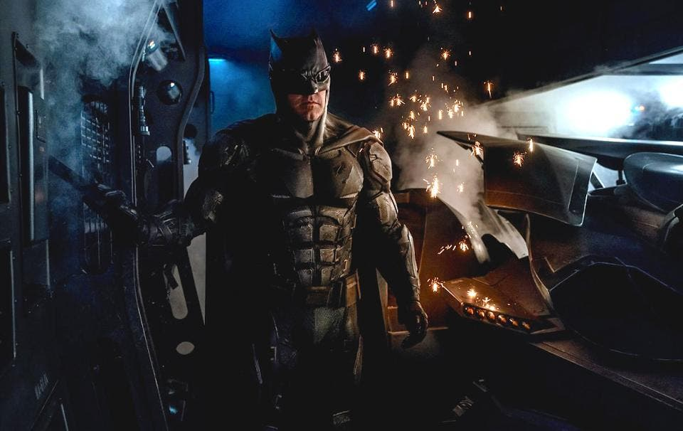 Ben Affleck The Batman y la Liga de la Justicia