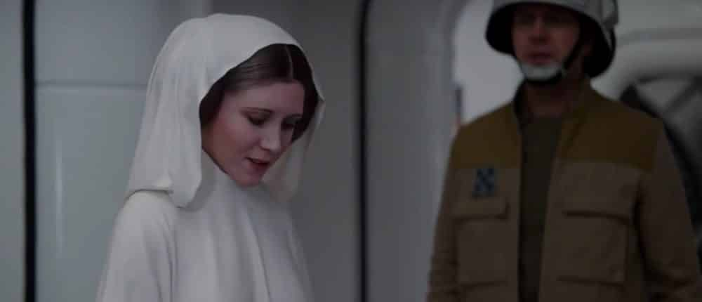 Carrie Fisher Leia Rogue One