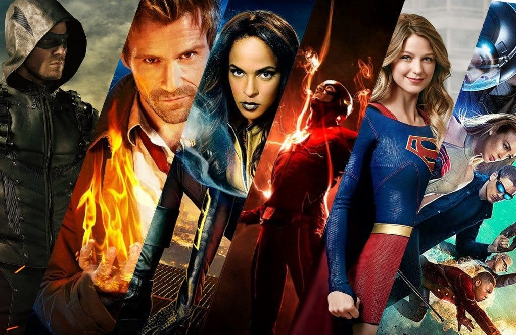 The CW Constantine Arrow Flash Supergirl