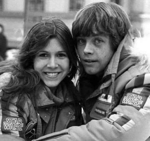 Despedida de Mark Hamill a Carrie Fisher STAR WARS