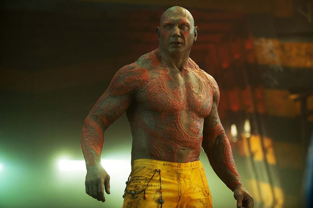'Guardianes de la Galaxia Vol. 2': James Gunn admite que Drax es gris