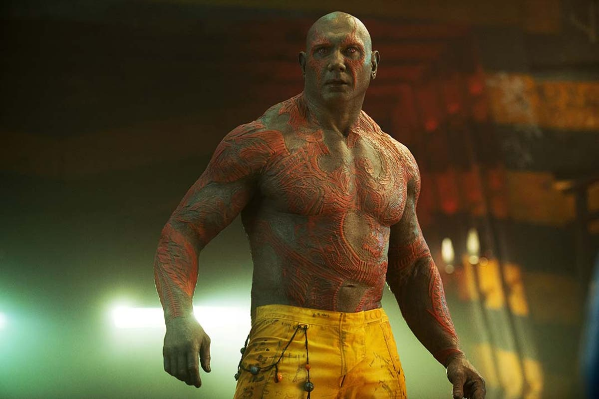 Drax Dave Bautista Guardianes de la Galaxia 2