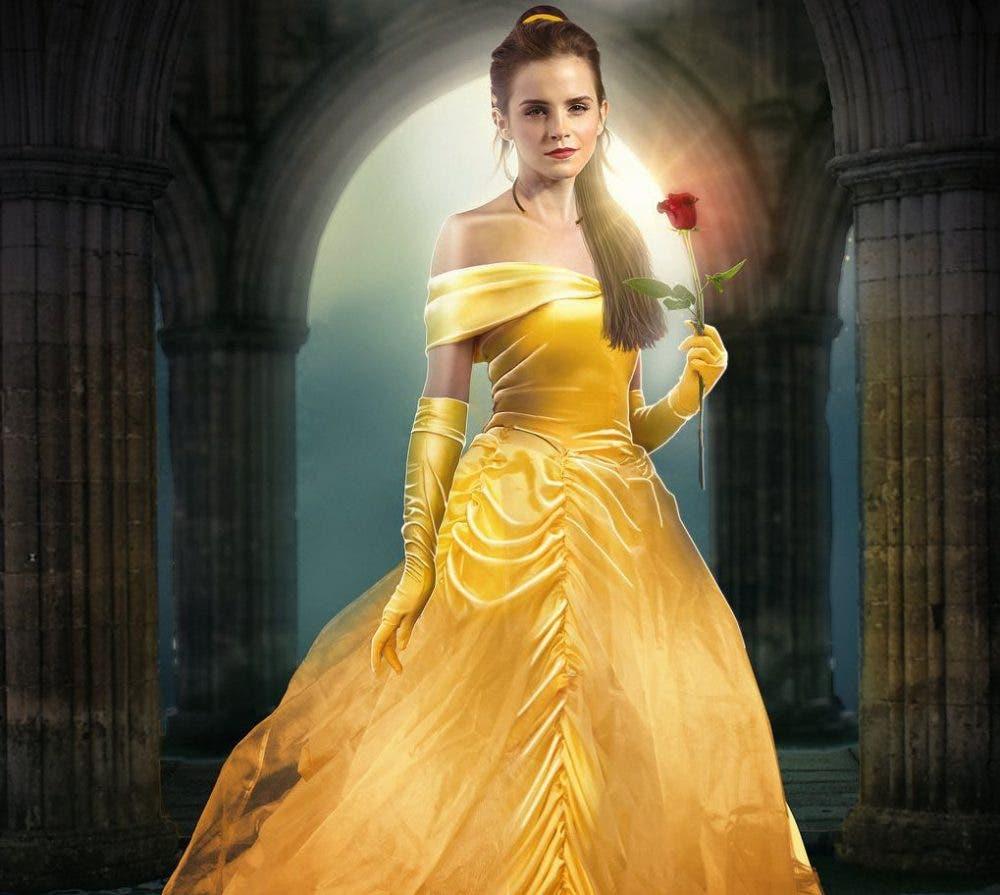 Emma Watson en La Bella y la Bestia (2)