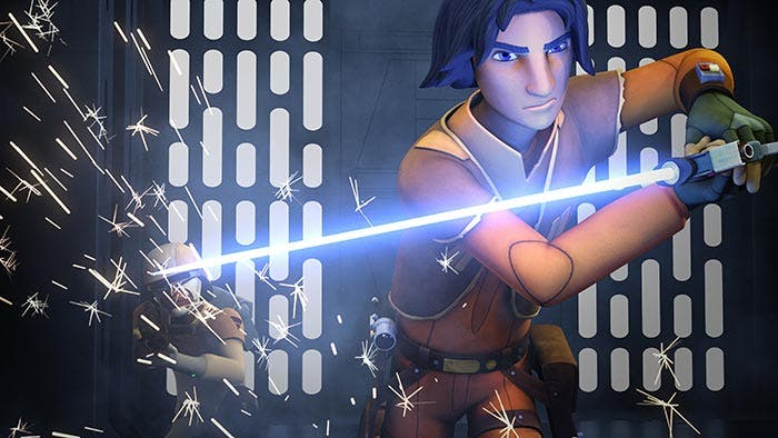 Ezra Bridger en la tercera temporada de 'Star Wars Rebels'